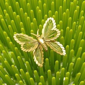 Monet Jewelry - Vintage Monet Butterfly Brooch